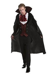 Adult Men's Classic Vampire Costume - Nevermore Costumes