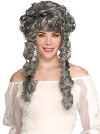 Victorian Ghost Bride Wig - Nevermore Costumes