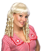 Baby Doll Blonde Ringlets Wig - Nevermore Costumes
