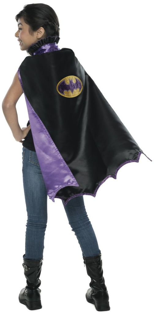 Child Deluxe Batgirl Cape - Nevermore Costumes