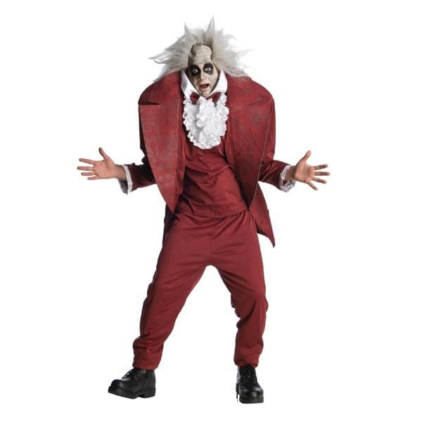 Beetlejuice Teen Shrunken Head Costume - Nevermore Costumes