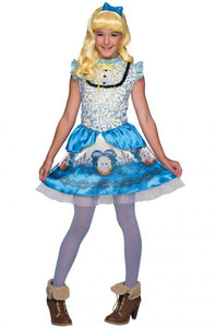 Ever After High, Kids Blondie Lockes Costume - Nevermore Costumes