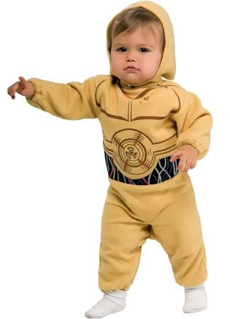 Star Wars C-3PO Toddler Costume - Nevermore Costumes