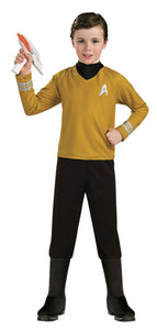 Star Trek Child's Deluxe Captain Kirk Costume - Nevermore Costumes