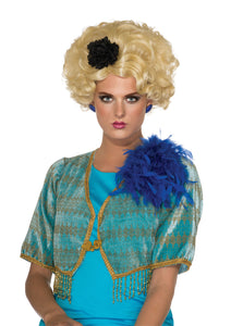 Blonde Chaperone Wig, 50's Updo, Effie Trinket - Nevermore Costumes
