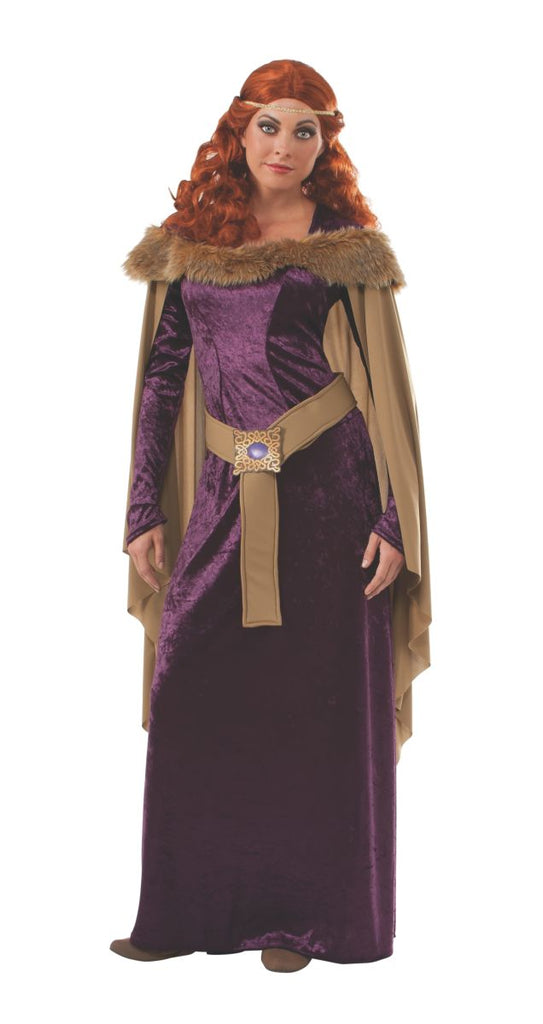 Deluxe Adult Medieval Charlotte Mane Costume - Nevermore Costumes