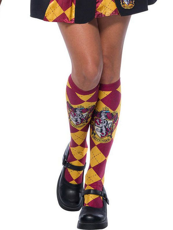 The Wizarding World Of Harry Potter Gryffindor Socks for Adults - Nevermore Costumes
