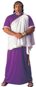 Julius Caesar Costume, Mens Plus Size - Nevermore Costumes