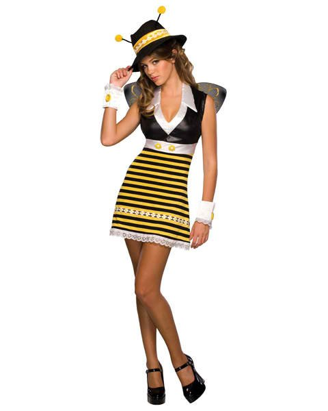 Teen Killa Bee Costume - Nevermore Costumes