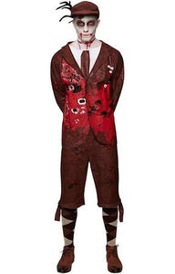 Men's Lord Gravestone Costume, British Zombie Gentleman - Nevermore Costumes