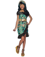 Monster High, Kids Cleo De Nile Costume - Nevermore Costumes