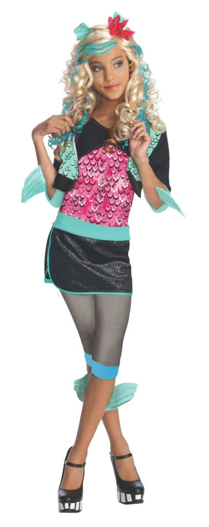 Monster High, Kids Lagoona Blue Costume - Nevermore Costumes