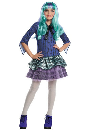 Monster High, Kids Twyla Costume - Nevermore Costumes