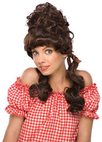 Dark Brown Maryanne Wig - Nevermore Costumes