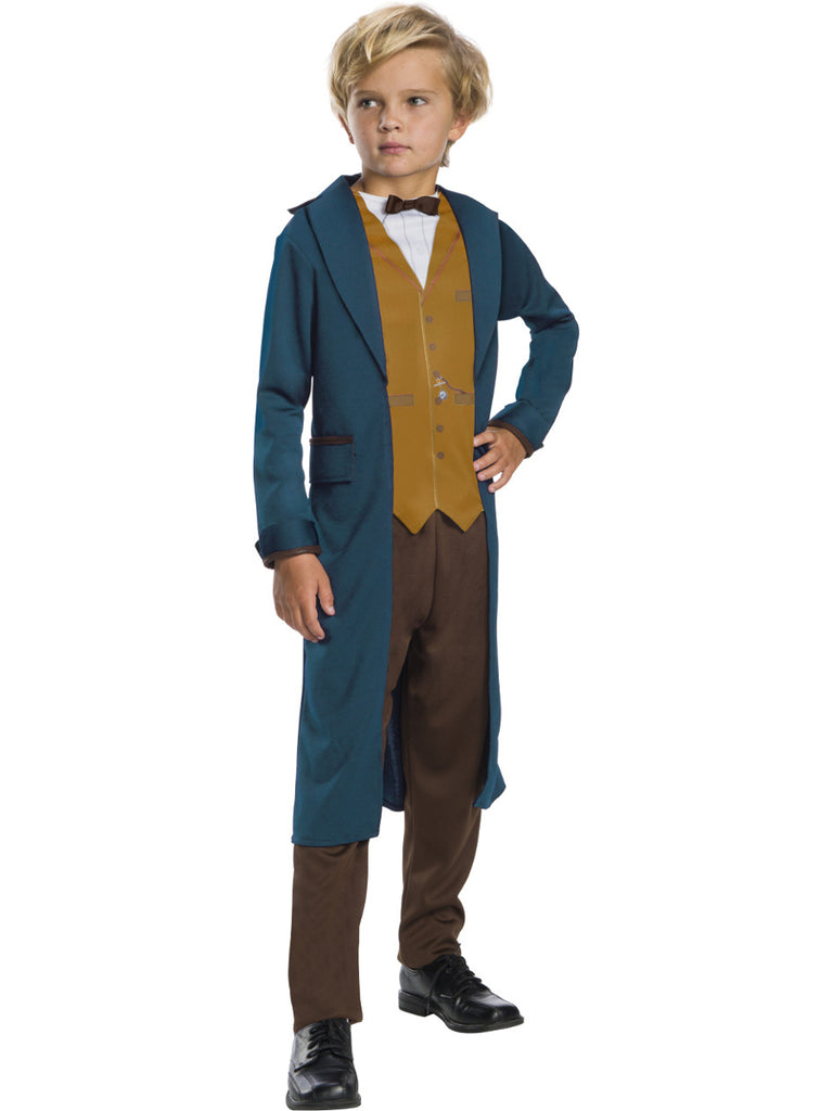 Newt Scamander Boys Costume, Fantastic Beasts - Nevermore Costumes
