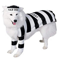 Prisoner Dog Pet Costume, Large - Nevermore Costumes