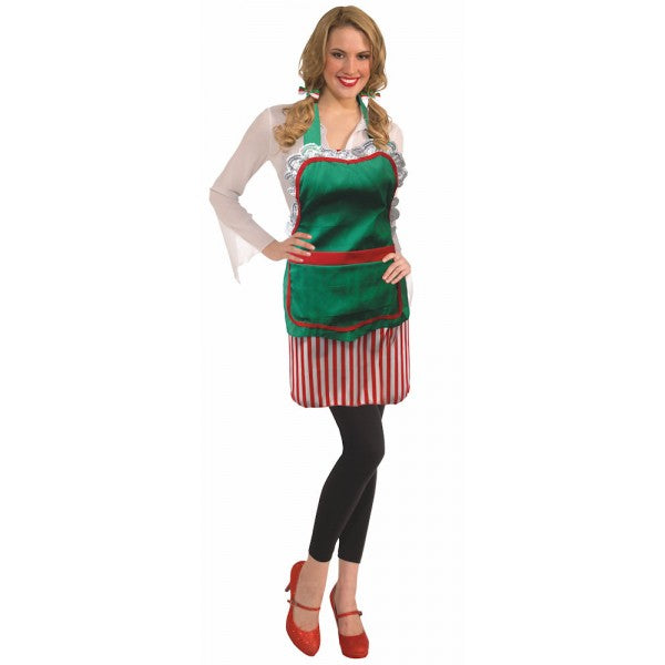 Santa's Helper Apron - Nevermore Costumes