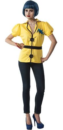 Comic Book Tracy Character Costume, Pop Art - Nevermore Costumes
