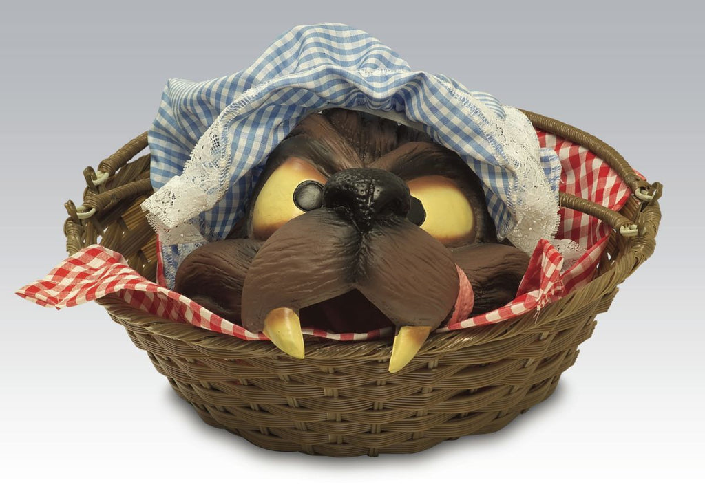 Wolf Head in a Basket - Nevermore Costumes