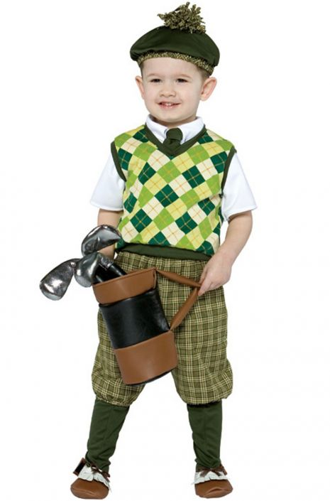 Future Golfer Costume, Toddler - Nevermore Costumes