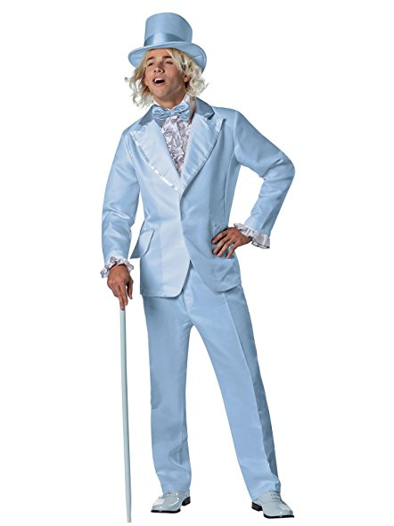 Men's Goofball Blue Tuxedo - Nevermore Costumes