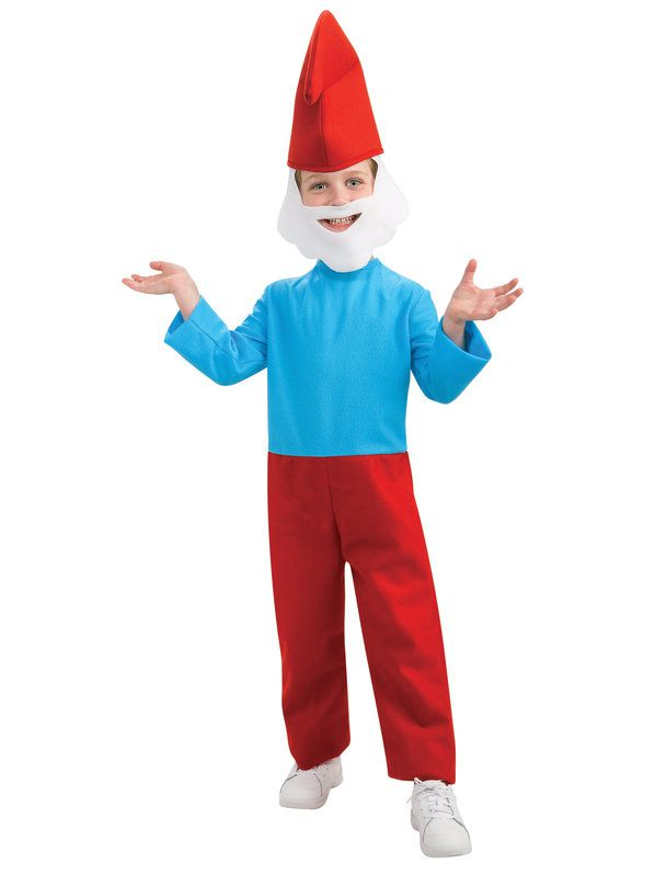 Child Papa Smurf Costume, The Lost Village - Nevermore Costumes