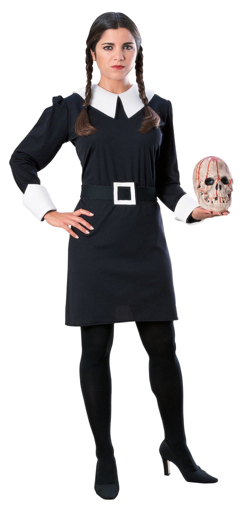 Women's Wednesday Costume, The Addams Family - Nevermore Costumes