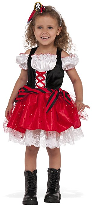 Child's Sweet Pirate Costume - Nevermore Costumes