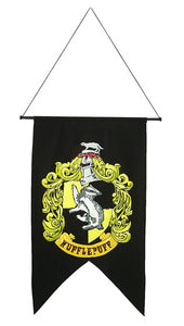 Harry Potter Hufflepuff Wall Banner - Nevermore Costumes