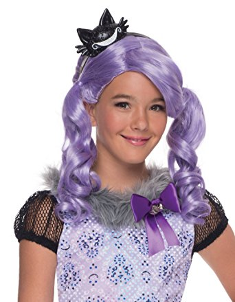 Ever After High, Child Kitty Cheshire Wig - Nevermore Costumes