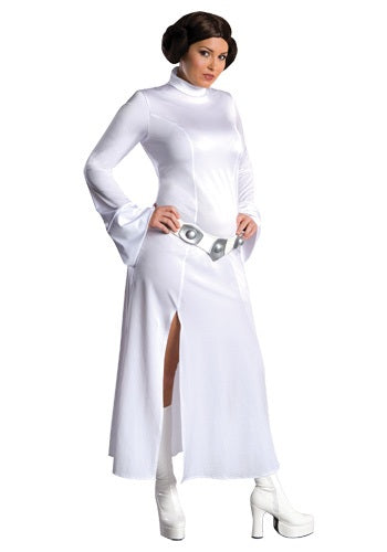 Women's Plus Size Sexy Princess Leia Costume, Star Wars - Nevermore Costumes
