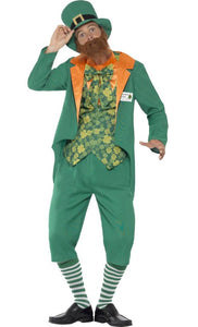 Seamus Craic Costume, Irish Leprechaun - Nevermore Costumes
