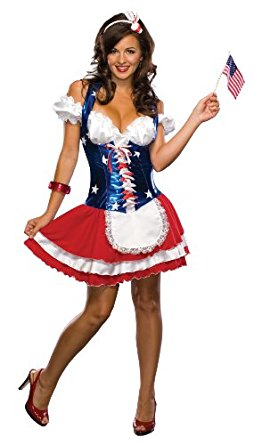 Women's Sexy Firecracker Costume - Nevermore Costumes