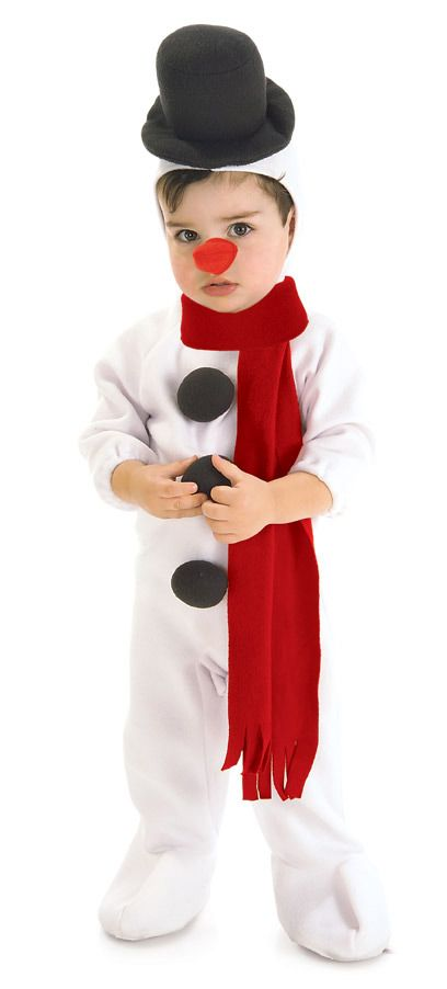 Lil' Snowman Costume - Nevermore Costumes