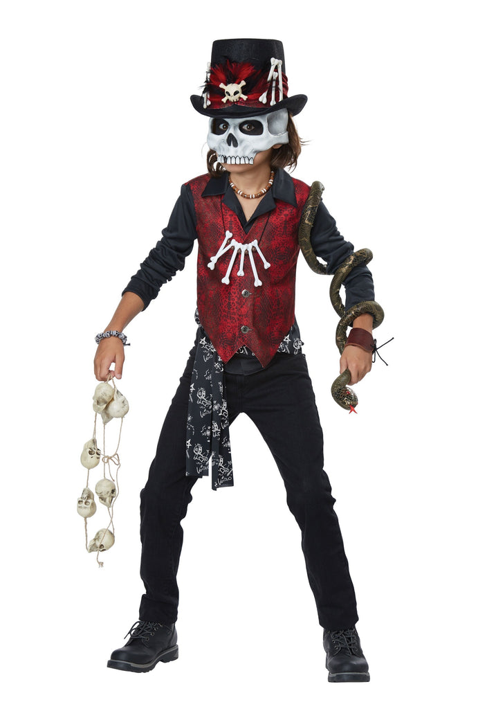 Voodoo Hex Boys Costume - Nevermore Costumes