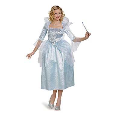 Women's Fairy Godmother Movie Adult Deluxe Costume - Nevermore Costumes