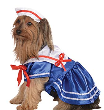Sailor Girl Pet Costume