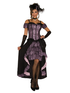 Women's Dance Hall Mistress Costume, Wild West Saloon Girl - Nevermore Costumes