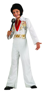 Kids Elvis Presley Eagle Jumpsuit Costume - Nevermore Costumes