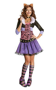 Monster High Deluxe Adult Clawdeen Wolf Costume
