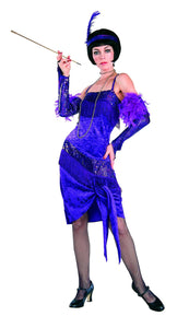 Fabulous Purple Flapper Costume, Roaring 20's - Nevermore Costumes