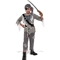 Ghostly Pirate Boy Costume - Nevermore Costumes