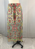 Ivy Jane Long Floral Maxi Skirt with tags, Small, NWT