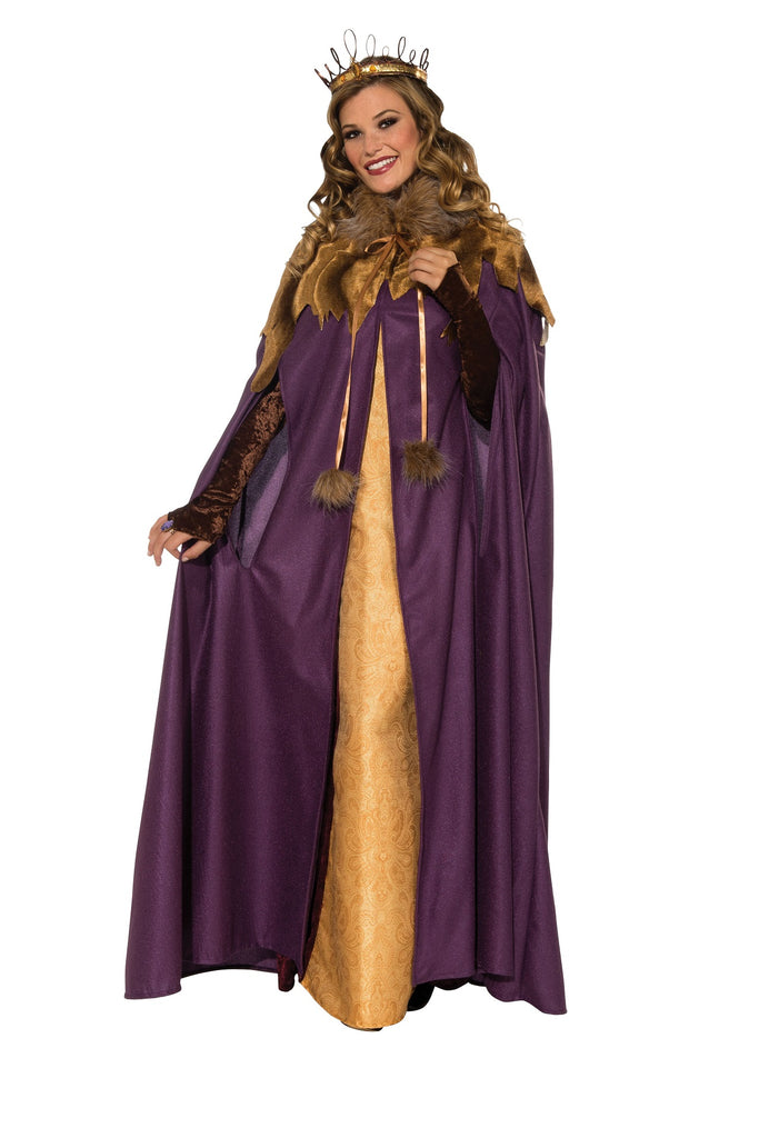 Womens Medieval Maiden Cloak, Cape - Nevermore Costumes