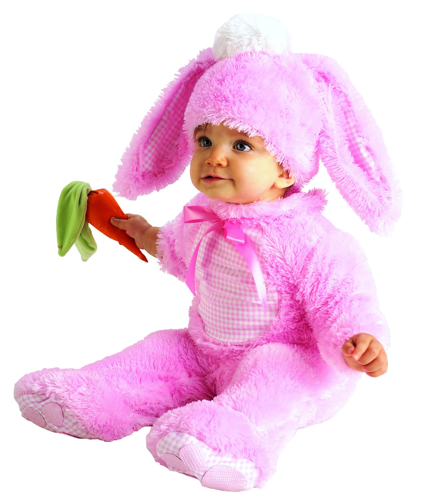 Infant Precious Pink Wabbit Costume, Pink Bunny Rabbit - Nevermore Costumes