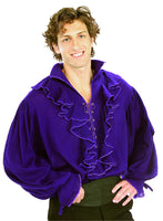 Purple Gauze Pirate Shirt - Nevermore Costumes