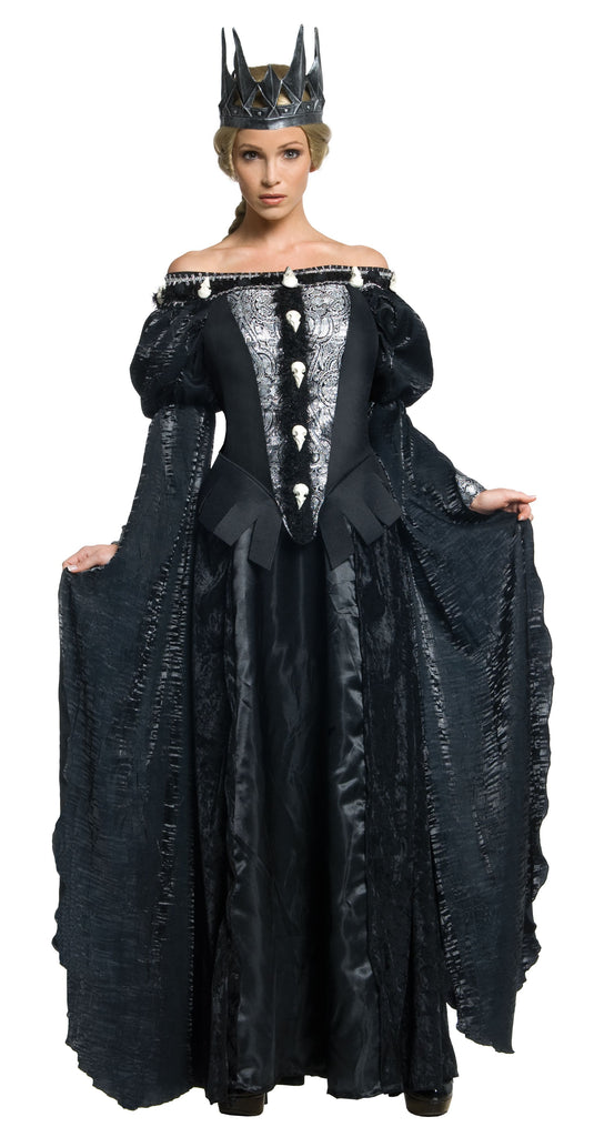 Ravenna Skull Dress Costume, Dark Medieval Beauty, Snow White and the Huntsman - Nevermore Costumes