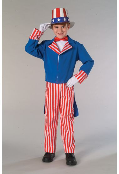 Child Uncle Sam Costume - Nevermore Costumes