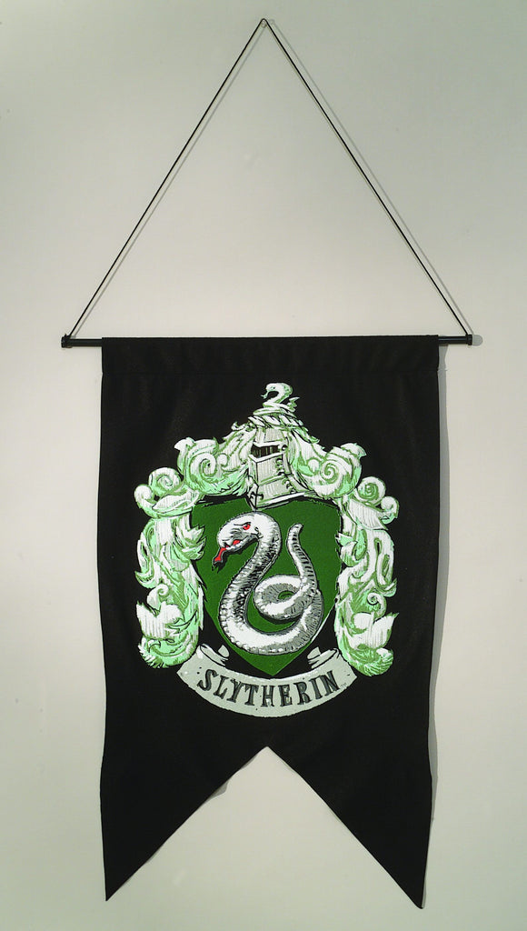 Harry Potter Slytherin Wall Banner - Nevermore Costumes