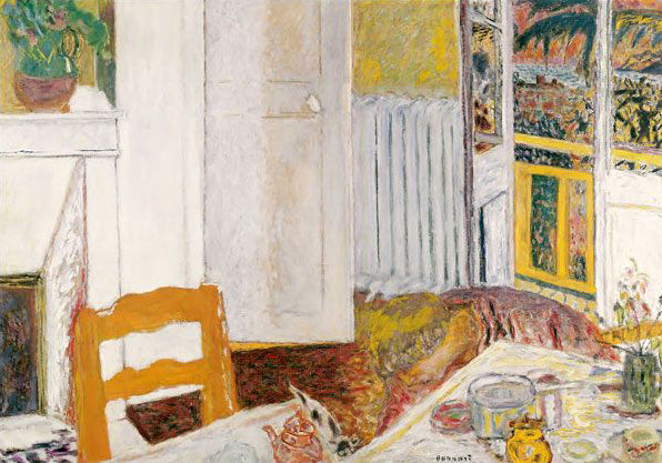 Pierre Bonnard, The White Interior, 1932